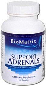 glandes surrénales de soutien - - de BioMatrix 120 Capsules