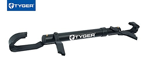 Tyger Auto TG-RK1B108B Deluxe Bike Top Frame Cross Bar Bicycle Telescopic Adaptor - Black by Tyger Auto (Image #3)