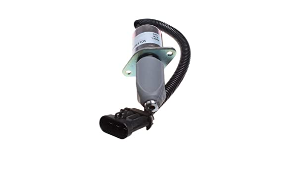 FridayParts 12V Traction Lock Solenoid 6681512 for Bobcat A220 S70 S100 S130 S150 S160 S175 S185 S205 S220