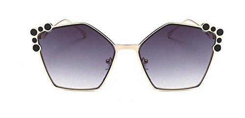 rond Double de vintage style polarisées cercle métallique inspirées Lennon Cendres du soleil lunettes en retro 7qwOAfA