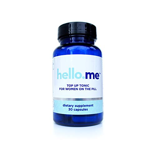 hello.me Top Up Tonic, 30 Day Supply (30 Capsules), Daily Supplement for Women on Hormonal Birth Control