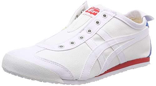 Asics Unisexe Adulte Onitsuka Tiger Mexico 66 Glissement Sur Sneaker, Blanc (blanc / 100)