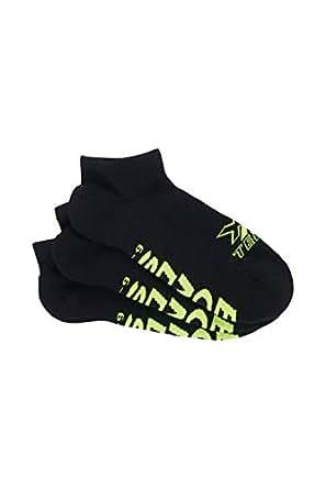 Bonds Men's X-Temp Low Cut Socks, Black, 6-10
