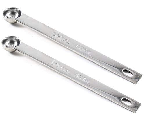 RSVP Measuring Spoons Teaspoon 1/8 Stainless Steel Single Spoon 5
