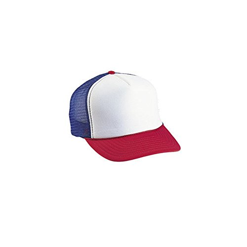 - 1 Dozen Cobra Caps Red White Blue Trucker Baseball Hats By Paynter Enterprises LLC