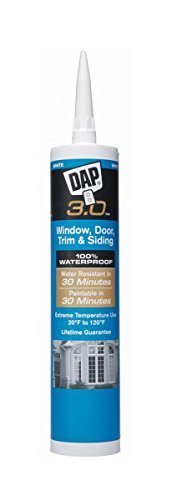 Dap 18362 Crystal Clear DAP® 3.0™ Window, Door, Trim & Siding Sealant by DAP