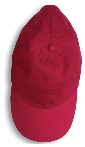 picture of Anvil Twill Cap, OS, Red