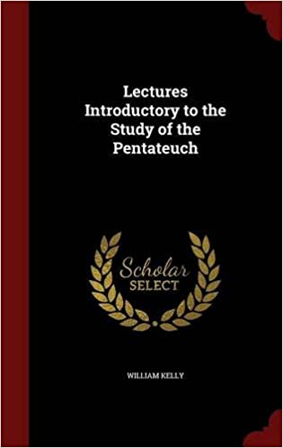 Book Lectures Introductory to the Study of the Pentateuch