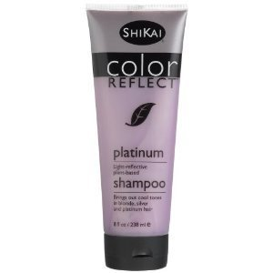 Shikai Color Reflect Platinum Shampoo, 8-Ounce Tubes (Pack of 3) by ShiKai BEAUTY - Shikai Silver Natural Shampoo