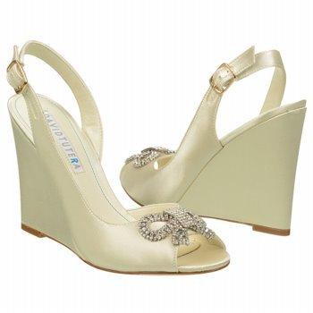 Satijnen Van Het De Fancy Sandals Van David Tutera Vrouwen