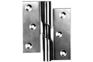 75mm 3'' No.466 Rising Butt Hinges - LEFT HAND - 1 Pair ZINC PLATED Perry Hinges