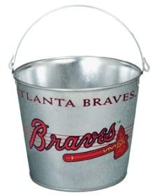 UPC 010943993239, Wincraft Atlanta Braves 5 Quart Galvanized Bucket