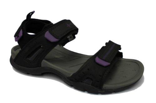 Sandale Trekking Sequel 0 Freizeit lila Damen Sandale schwarz McKinley Outdoor W Zdx0wnq
