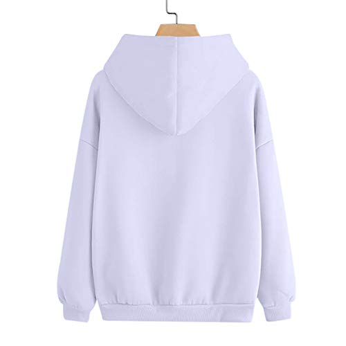 Couleur Blouse Sportswear Tops Vetement À Imprimé Mode Femmes Casual Poche Longues Manches Élégant shirt Slim Automne Sweat Adeshop Plume Capuche Blanc Haut Sweat Pure fxWnS6aS