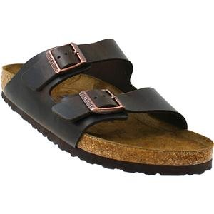 e2cece5d9a94 Birkenstock Unisex Arizona Brown Amalfi Leather Sandals - 43 M EU 10-10.5 B