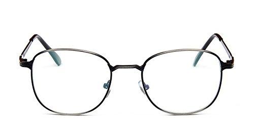 lunettes Gris tal m¡§ de ¡§ Gun conception montures mode simple Embryform lunettes cadre tudiant de vintage tee miroir miroir IqtgwUP