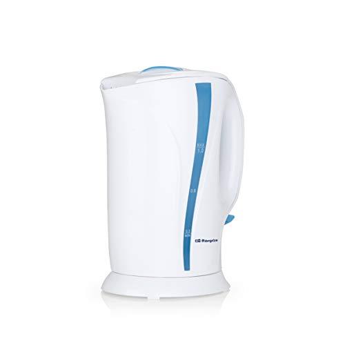 Orbegozo KT 5002 - Hervidor de agua electrico, 1 litro de capacidad, libre de BPA, 900 W de potencia