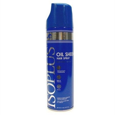 Price comparison product image IsoplusOil Sheen Hair Spray Regular Case Pack 6