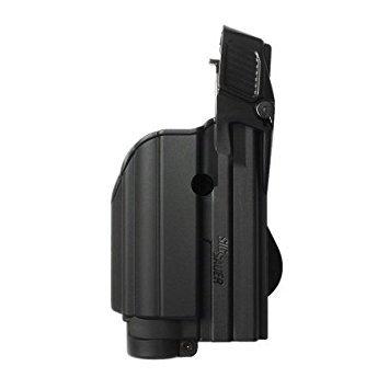 Black Tactical Gun Holster for Tactical Light / Laser Level II for Sig Sauer P226 (1500) (Best Tactical Light For Sig P226)