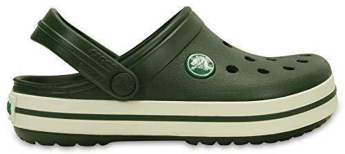 Sandália, Crocs, Crocband Kids, Verde, 24/25, Criança Unissex