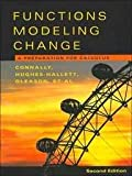 Functions Modeling Change 2nd Edition Paper with Student Solutions Manual and Graphing Calculator Manual Set, Connally, Eric, 047159928X