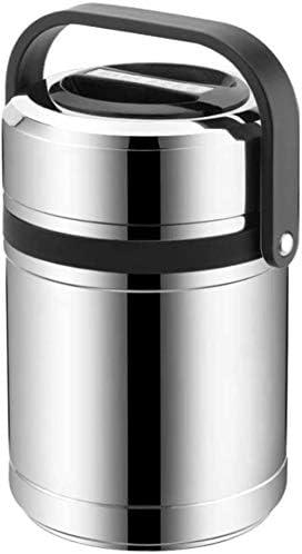 フードフラスコ2.0 L高容量ポータブル真空断熱ステンレス鋼ランチボックス魔法瓶食品コンテナーキッチン調理器具耐久性のある漏れ防止BPAフリーランチボックス