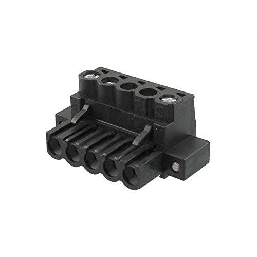 TERM BLOCK PLUG 5POS STR 5.08MM (Pack of 5)