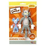 The Simpsons Itchy and Scratchy Bendable Figures