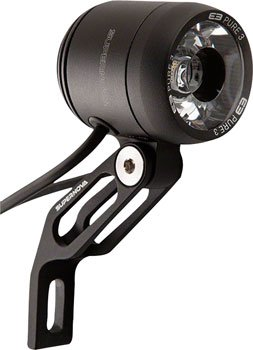 Supernova E3 Pure 3 dynamo bike lights black