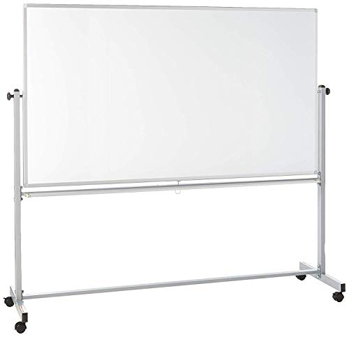 Offex Mobile Dry Erase Double Sided Magnetic Whiteboard - 72