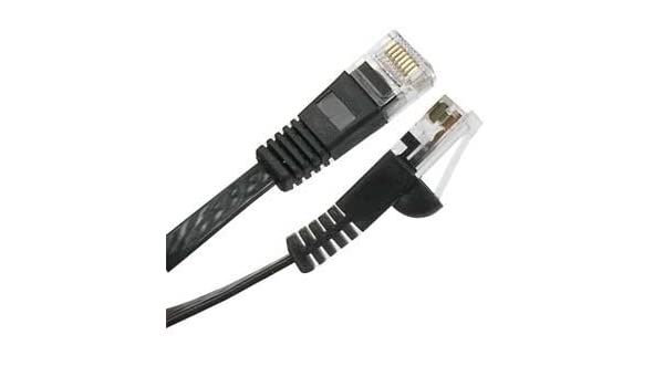550MHz GOWOS Cat6a Slim UTP Ethernet Cable 28AWG Network Cable with Gold Plated RJ45 Molded//Booted Connector 10 Gigabit//Sec High Speed LAN Internet//Patch Cable 5-Pack - 1.5 Feet Red