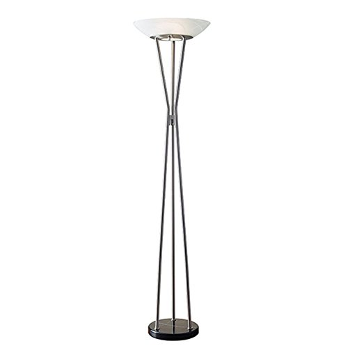 (Adesso 5210-22 Gemma Floor Lamp, Smart Outlet Compatible, 18
