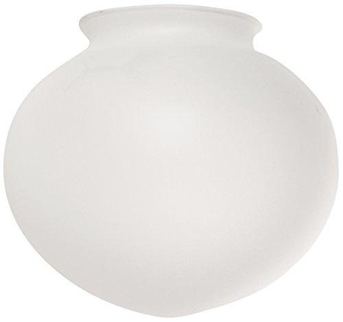 (Ellington 500W-G Opal Sphere Shaped Ceiling Fan Glass Shade with 3 1/4