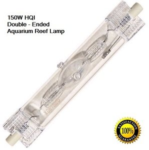 LSE Lighting 150W 5500K HQI Metal Halide Double Ended Bulb