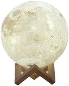 مصباح ليلي بطباعة ثلاثية الأبعاد - 15 سم