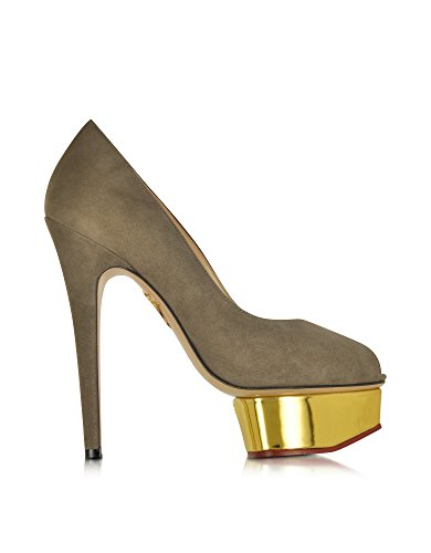 charlotte-olympia-womens-e109242066-grey-suede-pumps