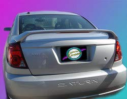 Unpainted 2003-2008 Saturn Ion Coupe Spoiler Custom Style, -