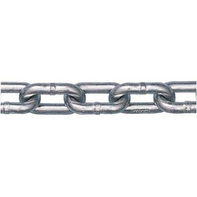 Peerless-5011633-Grade-30-Low-Carbon-Steel-Proof-Coil-Chain-in-Full-Drum-Zinc-Plated-12-Trade-0509-Diameter-200-Length-4500-lbs-Load-Capacity