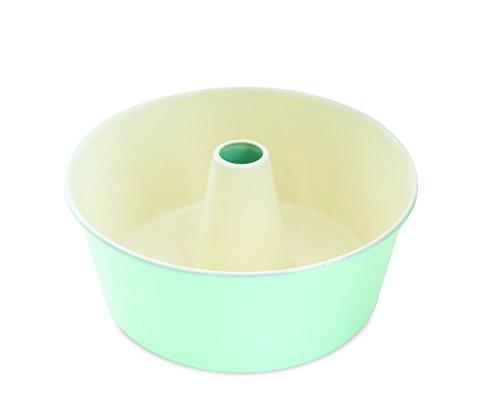 Nordic Ware 50918AMZ 12-Cup Angel Food Cake Pan, Mint