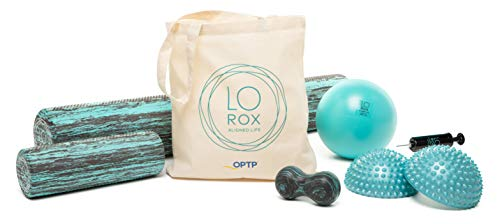 OPTP LO ROX Aligned Life Set - Core Strengthening and Self-Massage Products from Lauren - Strengthening Foam