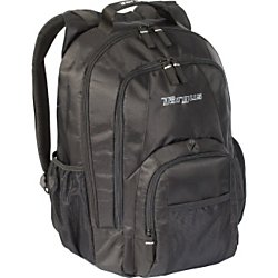 Targus Groove Backpack for 16-Inch Laptops, Black (CVR600) from Targus