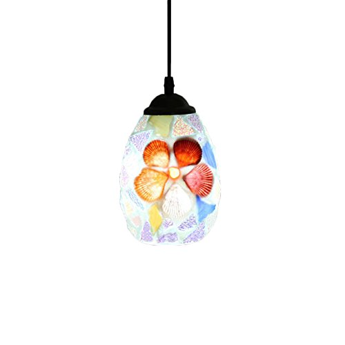 Mosaic Shell Pendant Light in US - 8