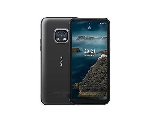 "Nokia XR20 5G Smartphone, impermeabile e resistente agli urti, Dual Sim, Display 6.67"" FHD+, 64GB, 4GB RAM, Dual Camera Ottiche ZEISS, Android 11, Batteria 4630mAh - Granite Grey"