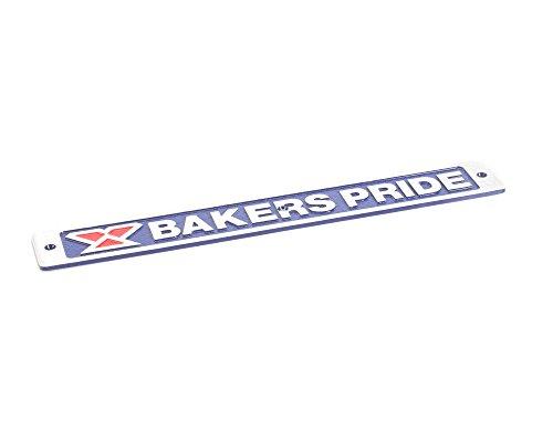Bakers Pride U1043X Bakers Pride Blue Nameplate