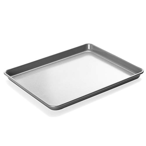 Non-stick Rectangular Baking Tray Oven Household Baking Tools Biscuit Cookie Mold Non-stick Baking Tray(32.5 27 2.5cm)