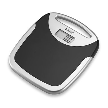 Conair TH203 Thinner Non-Slip On-The-Go Digital Portable Scale (Thinner Scale)