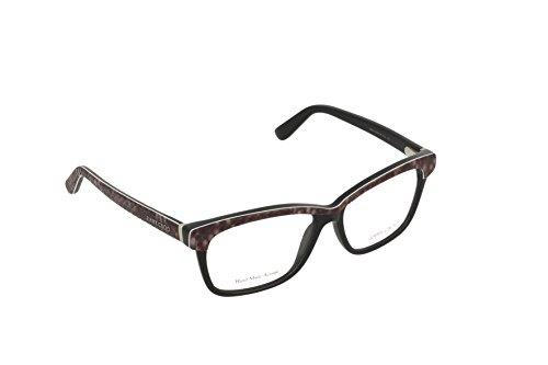 Jimmy Choo Python - JIMMY CHOO Eyeglasses 98 06Ui Black Python Gray 53MM