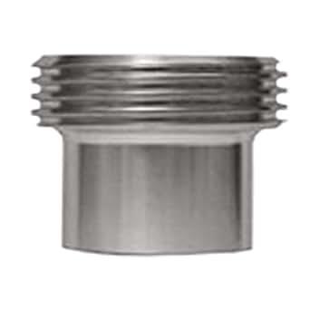 Steel and Obrien EAD02000-304 Stainless Steel L15AJP John Perry Threaded Ferrule 2 2