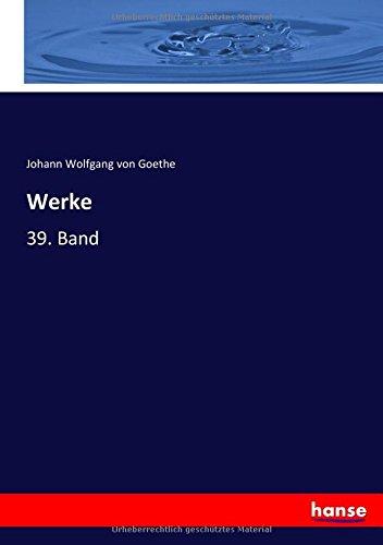 Werke: 39. Band (German Edition) pdf epub