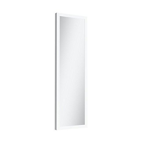 Mirrotek DM1448WT Over The Door Mirror, White